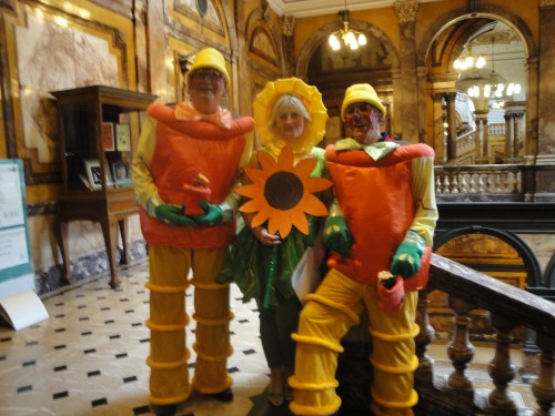 Bill Ben Weed at city chambers